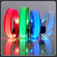 Flashing LED Light Dog Collars With Battery