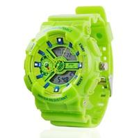 Color Brand Unisex Sport Watches Women Digital Watch 2014 Waterproof 30m Multi Function Luminous Calendar