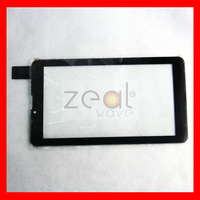 Free Tracking NO 7 inch TEXET NaviPad TM-7049 3G TM7049 Tablet Touch Screen Digitizer Glass Sensor Replacement  HS1275 V106pg