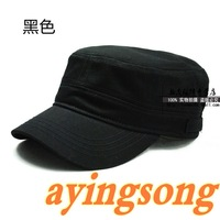 91 mirror 100% cotton cadet cap hat sun-shading military hat male hat