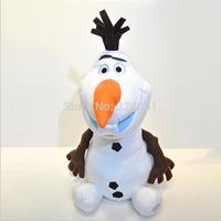 Free Shipping 2014 New 20cm Frozen Olaf Doll Snow Romance Dolls Plush Toy Olaf Wholesale Dolls for Girls