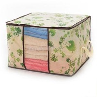 2014 New Brand Storage Organization/Flower Printed Quilt Storage Bags/High Quality Designer Storage bags