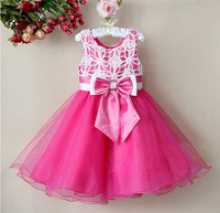 1pcs Sample Retail Baby Girls Party Dress Flower Child Gown Formal Celebration Kids Princess