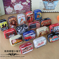 10 pieces/lot mini storage tin box candy jewelry box small gift 6