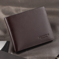 Han Musi short paragraph young men wallet leather wallet leather wallet tide shipping