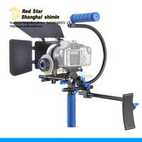 Bracket Camera DSLR Rig RL-001 set with Follow focus F0+Mattebox M1 Shoulder Support Rig