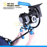 2014 Special Offer Camera Bracket for Dslr Rig Rl-002 Set Shoulder Mount + Follow Focus Matte Box M1 for Dslr/dv Support System