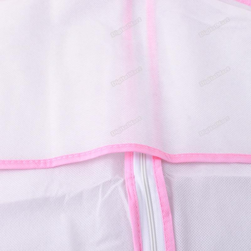 new digitalmart Bridal Wedding Dress Garment Storage Gown Bag Cover #2 High Quality best services(China (Mainland))