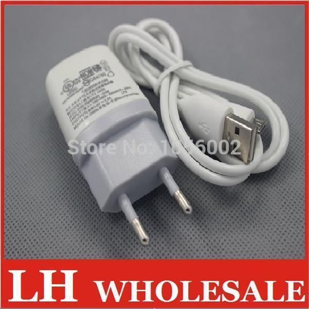 US EU Plug Home Wall Charger USB Micro Data Cable for HTC Samsung i9300 Motorola Sony Ericsson Nokia EVO 4G Desire HD Sprint(China (Mainland))