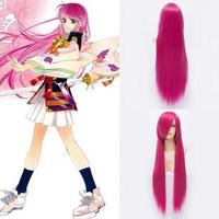 Qiyun Ichinose Kotomi Kasuga Nozomi Long Straight Peach Red Cosplay Anime Costume Wig Peluca Perucke Perruque