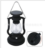 Solar hand lamp  Solar Camping Lantern  battery and  configurate AC charger also can use