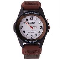Fashion Unisex Nylon Watch 2014 Luminous Quartz Watch Men Women Analog Wristwatches
