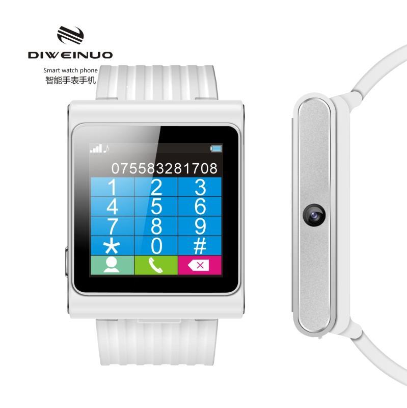 DIWEINUO D6 Genuine Multifunction Bluetooth Sync MP3/MP4 Radio HD Camera MTK D6 U8 F3 GV08 N388 Q5 Gifts android Watch Phone(China (Mainland))