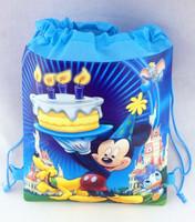 Free shipping ~new design \lot Backpack Bag- Kid's School bag ,Cartoon Drawstring,children gifts,part bag,last price