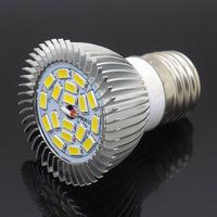 5 Pcs/lot 15w Dimmable SMD 5730 18 LED COB SpotLight Bulb Light AC 85-265V DC 12V Replace 80W halogen lamp E27 E14 GU10