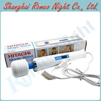 HITACHI Magic Wand Massager 2 Modes Powerful Vibrating AV Wand Body Massager Vibrators, Sex Toys Erotic Sex Products