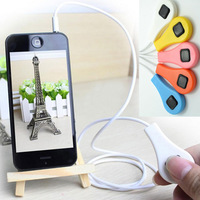 New Arrival For Android Smartphone Cellphone Remote Shutter Cable for Samsung Galaxy S2 S3 S4 Note2 Note3 for HTC 5pcs/lot