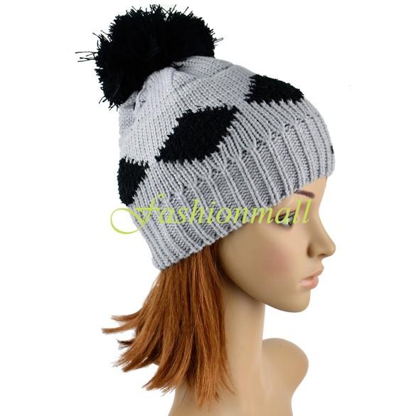 Diamond Grid Knitting Pattern : Crochet Beanie Pattern Promotion-Online Shopping for Promotional Crochet Bean...