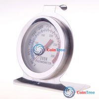 Economic benefit cointree Home Kitchen Food Meat Dial Stainless Steel Oven Thermometer Temperature Gauge High Quality DIY