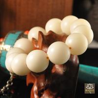 Brand new Seiko white bodhi root beads bracelets 19 white bodhi root bracelets bangles bodhi son white bodhi Men