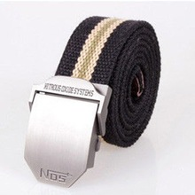 New  2014 Brand Sport Belts Men/Designer Candy Color Metal Buckle Canvas Men Belt/Casual Candy Colors Belt Men Accessories