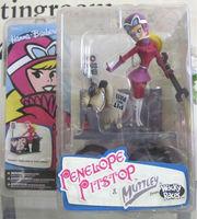 "Rare Hanna Barbera Penelope Pitstop Mutley 6"" Figures McFarlane Collection"