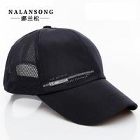 free shipping 2014 male hats male summer outdoor baseball cap male summer breathable sun-shading sunscreen sun hat mesh cap male