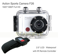 Cheap Go Pro Sport Camera Full HD Sports Action Helmet Camera With Remote Control Waterproof 30M Free Shipping