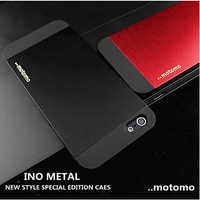 2014 New Luxury Slim Ultra thin Aluminum Metal Case for iphone 5 5S  4 4S 1pc motomo case each order Free Shipping