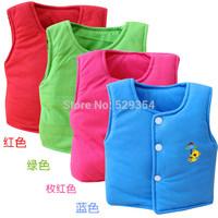 Newborn baby vest camisole vest boys and girls cotton cardigan vest liner K-136