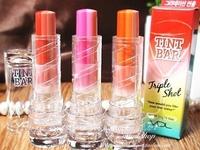 2014 Korea VDL New Brand Makeup 3X Tint Bar Triple Shot Lipstick Three Color Gradient Lipstick 3.5g/Piece Lip Balm Free Shipping