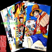Always renew!!Free shipping, wholesale Japanese cartoon poster, ONE PIECE / Hokage / BLEACH / Death Note 8pieces/set  4sets/lot