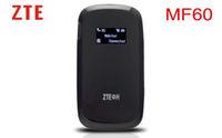 Original 3G wifi Router  Unlocked ZTE MF60 21Mbps 802.11b/g/n WCDMA/GSM Quad band SIM Card Slot Mobile Hotspot PK R210 R205 R206