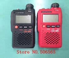 Mini two way radio walkie talkie Baofeng BF-UV3R VHF UHF  Dual band FM radio Freeshipping