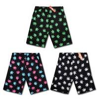 Harajuku maple leaves Men and women summer shorts hip hop shorts sportswear Beach shorts Boardshorts BK-01