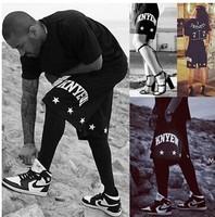 New 2014 harajuku women and men hip hop shorts Sports Casual Fashion Street dance Hiphop Summer BK-07