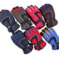(1pair/lot) New Design Knitting Men's Warm Winter Gloves,High Quality Windproof  Bike Glove,Slip Ski Mittens