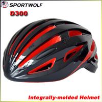 2014 SPORTWOLF D300 EPS Ultralight Mountain Bike Helmet Integrally-molded Men's Road Cycling Helmet L 58-62CM 240G