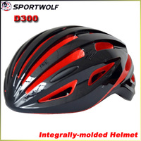 2014 SPORTWOLF D300 EPS Ultralight Mountain Bike Helmet Integrally-molded Men's Road Cycling Helmet L 58-62CM 240G