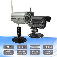 Siri Wireless IP Network Camera Outdoor Security WIFI Webcam CCTV Night Vision IR Web cam AP003