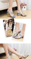 2014 new summer sandals women Flat hollow out diamond sandals female students Flat Bohemian women's shoes