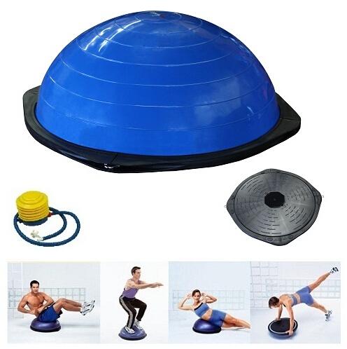 Bosu Balance Ball, Half Yoga Ball,Bosu ball with Free Pump(China (Mainland))
