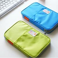 Free Shipping Passport Holder Bag Checkbook Card bag& ID Holder Stationery Purse Travel Wallet