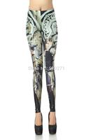 New Fashion For Women 2014 Summer Leggings 3D Stars Wars Chewie And Han Digital  Printed Pencil Pants  High Waist Leggings DK252