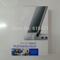 Dock for Samsung Galaxy Note 2 II, Glaxy S3 Desktop Cradle Multimedia Dock EU/US Plug EDD-S20KWK 100pcs