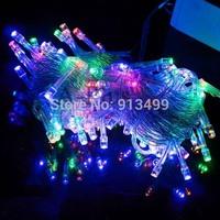 10M 100 LED String Lights Xmas Christmas Decoration Wedding Party Decor Lamp Colorful 220V EU TK0200
