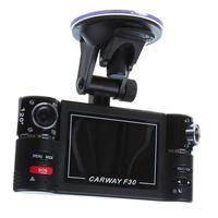 "Wisedeal F30 Dual Lens 2.7"" Dual Car  Camera Night Vision HD DVR Car Vehicle Black Box Driving Camcorder Video Recorder"