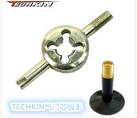 () 40531 TECHKIN valve key valve wrench valve core wrench valve spanner wrench American tube