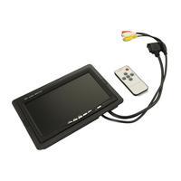 car monitor 7 tft lcd car monitor retrovisor monitor car 16:9 DC12V LCD monitors new digital screen(Support as Computer Screen )