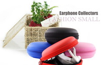 Carrying Hard Case Carry Storage Pouch Bag Holder For Headphone Earphone Headset [1-Color Pack]Free Shipping